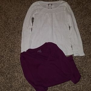 2Long sleeve Medium Shirts
